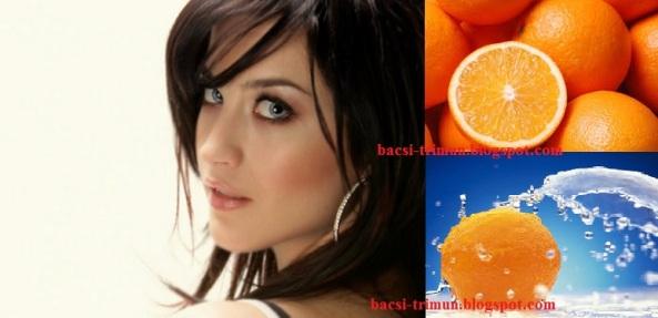 Trị mụn bọc hiệu quả bằng trái cam